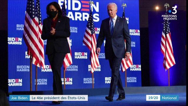 Présidentielle américaine : Joe Biden élu 46e président des États-Unis