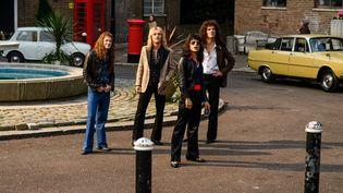 "Ben Hardy, Gwilym Lee,Rami Malek et Joseph Mazzello (de gauche à droite), dans ""Bohemian Rhapsody"" de Bryan Singer, qui sort en France le 31 octobre. (TWENTIETH CENTURY FOX)"