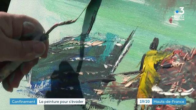 Hugues Panec peintre confiné