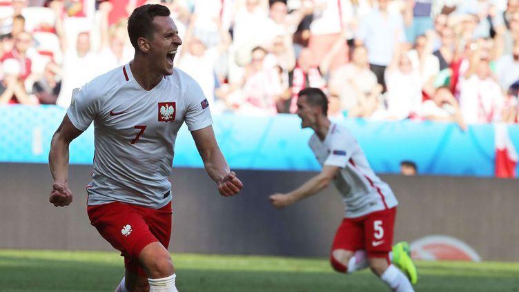 (Après deux participations à l'Euro, la Pologne remporte enfin une rencontre, 1-0 face à l'Irlande du Nord © Sipa)
