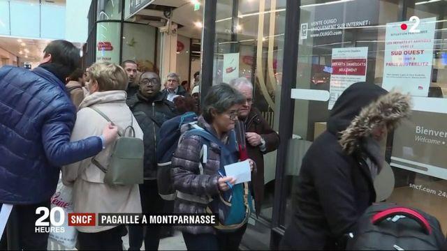 SNCF : une panne électrique sème la pagaille à la gare Montparnasse