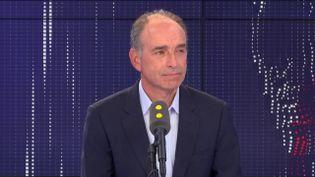 """Jean-François Copé,maire """"Les Républicains"""" de Meaux sur franceinfo le 14 septembre 2019. (FRANCEINFO / RADIOFRANCE)"""