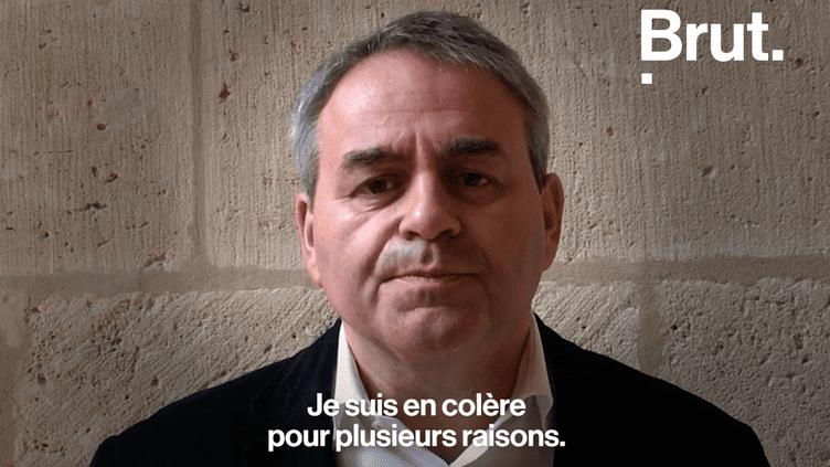 Le coup de gueule de Xavier Bertrand après l'échec de la candidature de Lille d'accueillir l'AME. (BRUT)
