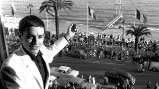 Alain Delon à Cannes en 1961  (DALMAS/SIPA)