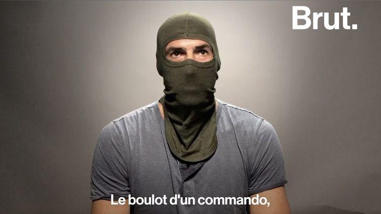 Pendant 13 ans, Julien a été commando marine des forces spéciales. Il a souhaité faire part de son expérience. (BRUT)