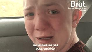 La vidéo d'un collégien dénonçant le harcèlement scolaire bouleverse les États-Unis (BRUT)