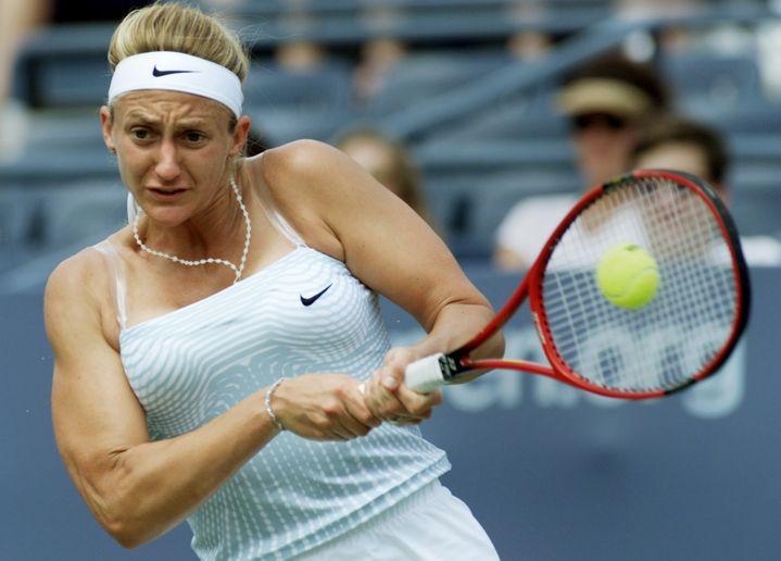 La Française Mary Pierce le 31 août 2000 à l'US Open. (REUTERS)