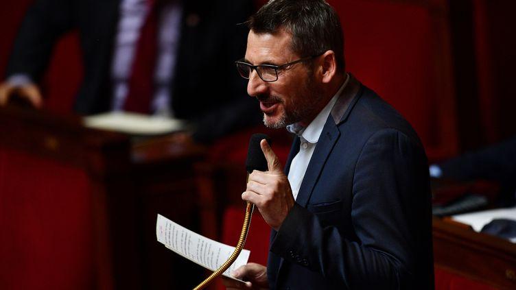 L'ancien LREM Matthieu Orphelin, chef de file du groupeÉcologie, démocratie et solidarité à l'Assemblée nationale, le 26 ai 2020. (CHRISTOPHE ARCHAMBAULT / AFP)