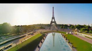 Avec Flyview, il est possible de survoler Paris comme un oiseau. (FRANCE 2)