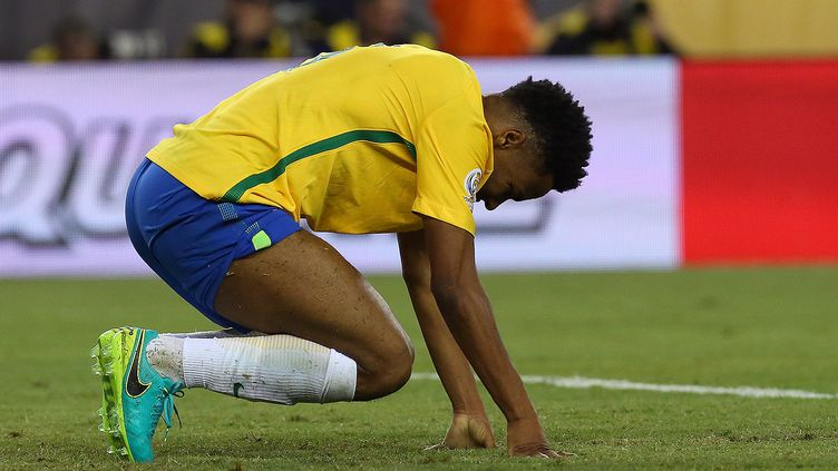 Le joueur brésilien Elias (JIM ROGASH / GETTY IMAGES NORTH AMERICA)