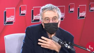 L'ancien juge d'instruction au pôle financier, Renaud Van Ruymbeke, sur France Inter, le 5 janvier 2020. (FRANCEINTER / RADIOFRANCE)
