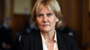 Nadine Morano au tribunal correctionnel de Nancy (Meurthe-et-Moselle), le 10 novembre 2015. (MAXPPP)