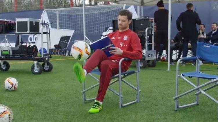 Le milieu de terrain du Bayern Munich, Xabi Alonso