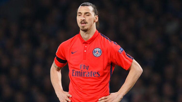 Le joueur du PSG Zlatan Ibrahimovic