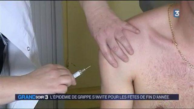 L'épidémie de grippe s'invite pour les fêtes de fin d'année