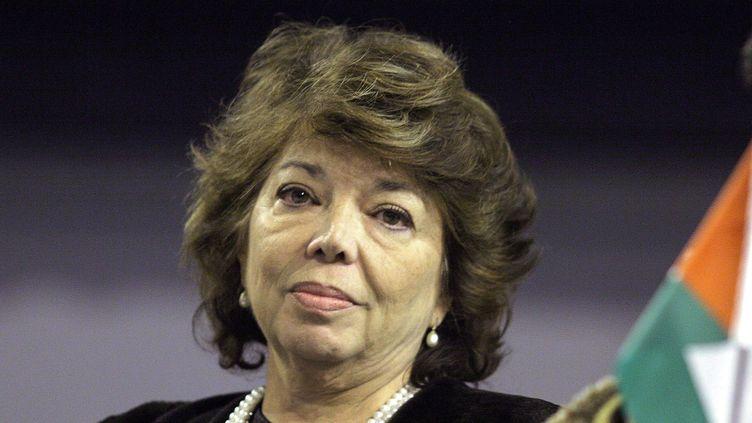 Leïla Shahid, le 21 novembre 2005. (MAXPPP)
