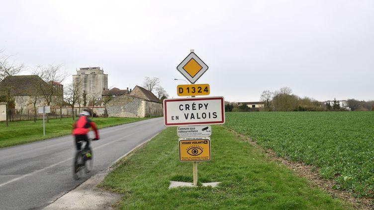 La commune de Crépy-en-Valois (Oise), le 28 février 2020. (MARTIN BUREAU / AFP)