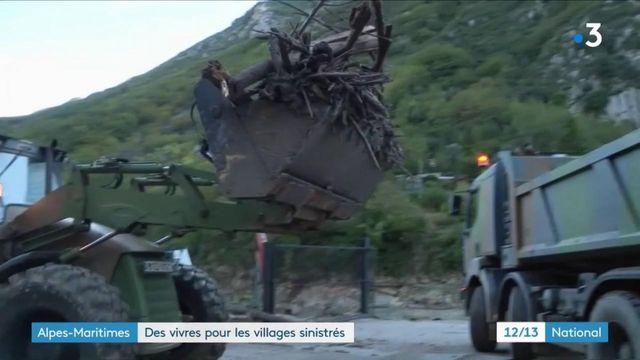 Tempête Alex : l'armée au secours des villages sinistrés dans les Alpes-Martimes