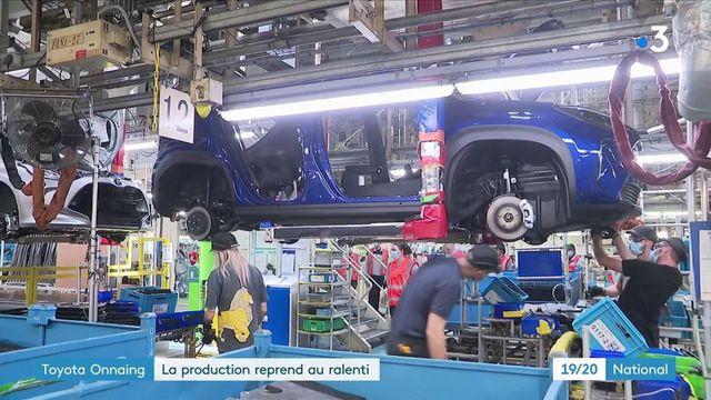 Toyota : l'usine d'Onnaing reprend après trois semaines de chômage forcé