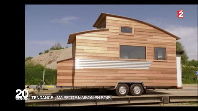 Tiny House: le succès de ces petites maisons en bois transportables