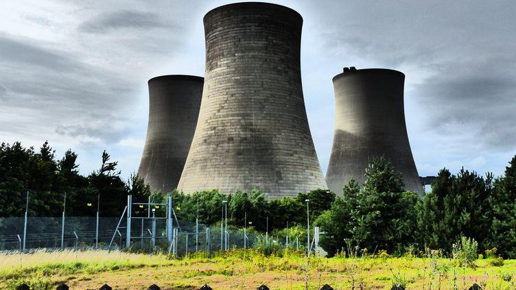 La centrale électrique de Didcot au Royaume-Uni en juillet 2014. (GEOFF SWAINE / NURPHOTO / AFP)