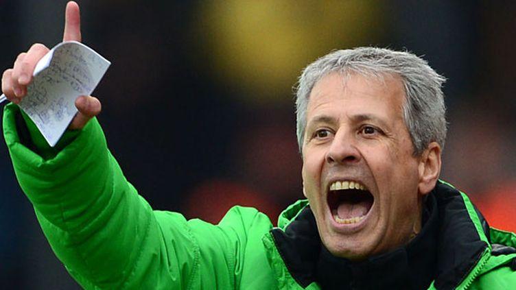 L'entraîneur du Borussia Monchengladbach, Lucien Favre