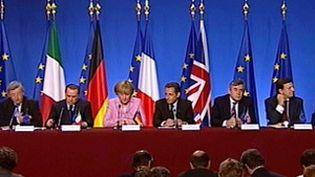 Le G7 réunit les Etats-Unis, le Canada, le Japon, l'Allemagne, la France, l'Italie et le Royaume-Uni. (France 3)