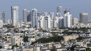 Vue de Tel Aviv, en Israël, en 2014. (JACK GUEZ / AFP)