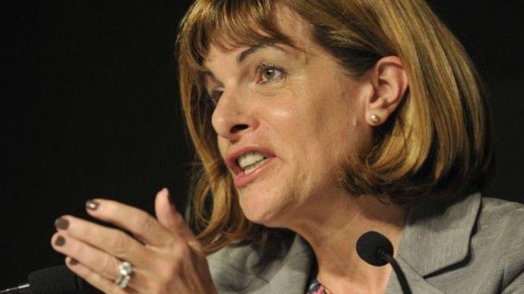 """Anne Lauvergeon dépose plainte pour """"écoutes illégales"""". (YOSHIKAZU TSUNO / AFP)"""