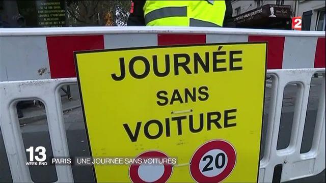 Paris : deuxième journée sans voiture dans la capitale