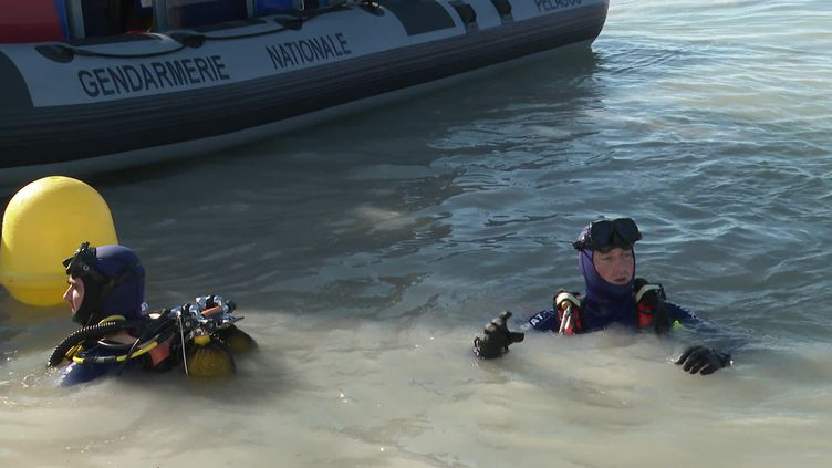 Plongeurs de la Gendarmerie (France 3 Côte d'Azur / D. Pardanaud)