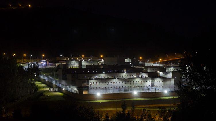 La prison de Cuenca en Equateur, le 23 février 2021. (DARIO ORDONEZ / ANADOLU AGENCY)