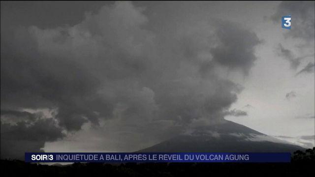 Bali : un volcan inquiète, le trafic aérien perturbé