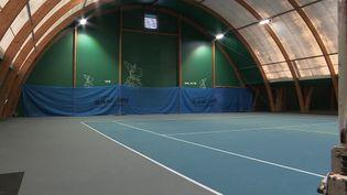 Une école de tennis de Metz (Moselle), fermée depuis les annonces gouvernementales du 14 janvier 2021 (France 3)