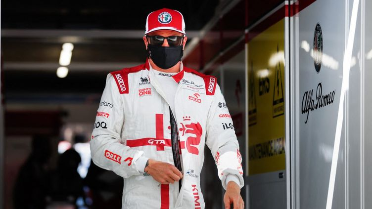 Kimi Räikkönen a été testé positif au coronavirus, samedi 4 septembre 2021. (ANTONIN VINCENT / DPPI / AFP)