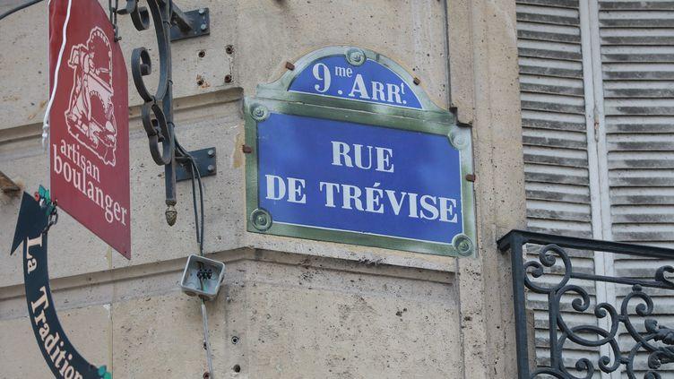 La rue de Trévise à Paris. (PHILIPPE LAVIEILLE / MAXPPP)