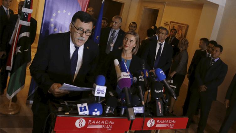 (Fayez al-Sarraj, Premier ministre du gouvernement d'union nationale libyen. © Zoubeir Souissi/Reuters)