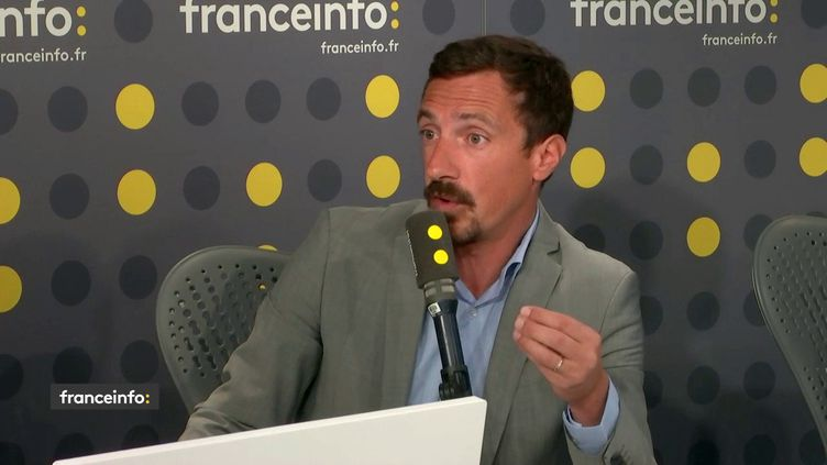 Romain Gizolme, ledirecteur de l'Association des directeurs au service des personnes âgées. (FRANCEINFO / RADIO FRANCE)