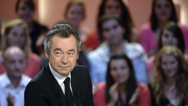 """Michel Denisot a présenté """"Le Grand Journal"""", sur Canal+, entre 2004 et 2013. (MARTIN BUREAU / AFP)"""