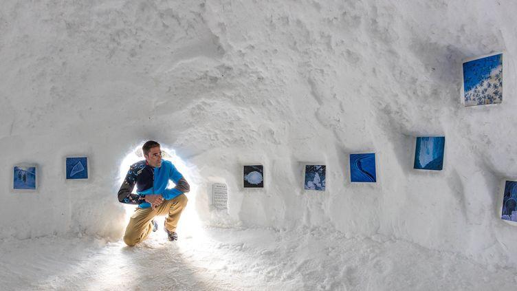 """""""Délices de gel"""" exposition photographiques de Bertrand Bodin à Orcières-Merlette (Hautes-Alpes) (BERTRAND BODIN)"""
