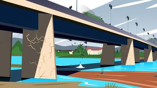 La mission d'information sénatoriale sur la sécurité des ponts a passé au peigne fin ces ouvrages. Franceinfo dresse leurétat des lieux en infographies. (PIERRE-ALBERT JOSSERAND / FRANCEINFO)