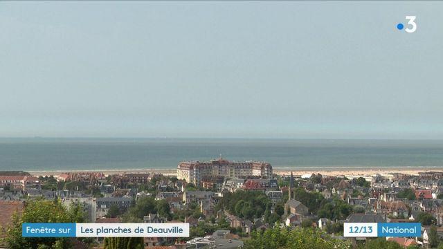 Fenêtre sur : les planches de Deauville