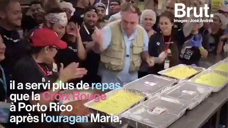 VIDEO. Qui est José Andrés, le chef étoilé engagé auprès des plus démunis ? (BRUT)