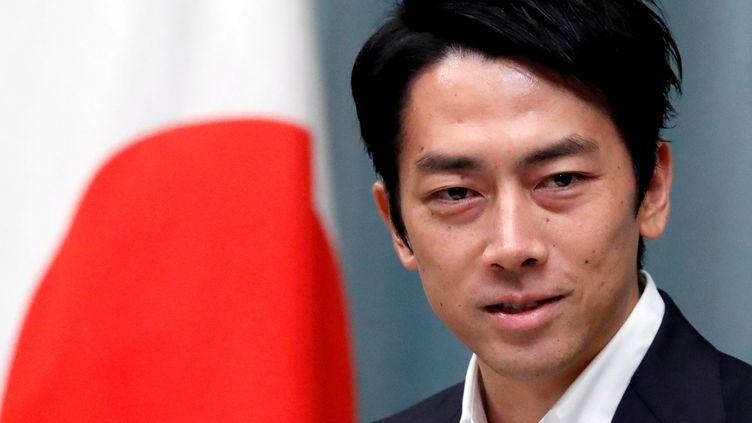 Le ministre japonais de l'Environnement,Shinjiro Koizumi, le 11 septembre 2019, à Tokyo. (ISSEI KATO / REUTERS)