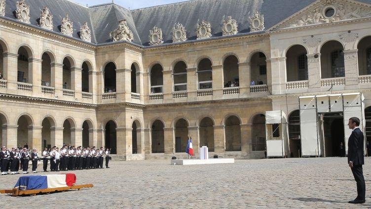 L'hommage national de la France à Simone Veil aux Invalides.  (Michel Euler / POOL / AFP)