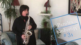 La saxophoniste Géraldine Laurent (Des mots de minuit)
