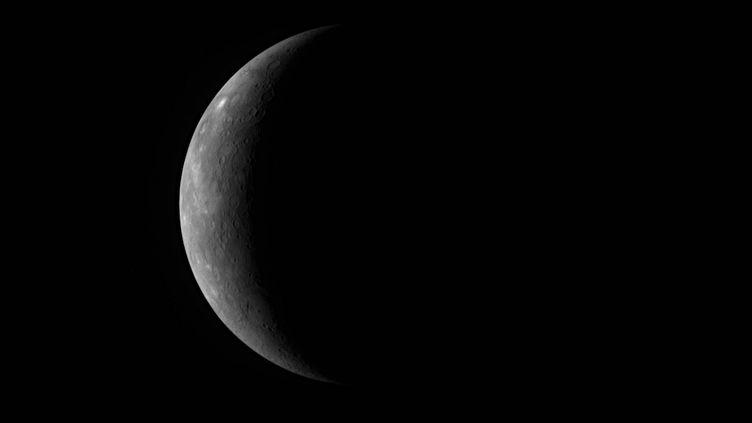 La planète Mercure, le 5 octobre 2008. (REUTERS)