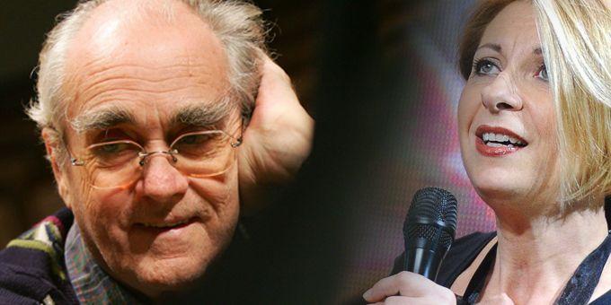 Michel Legrand fête ses 80 ans avec Natalie Dessay au théâtre du Chatelet  (Pierre-Philippe Marcou / AFP)