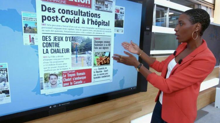 Coronavirus, sécheresse, vélos… Le tour de la presse régionale (France 2)