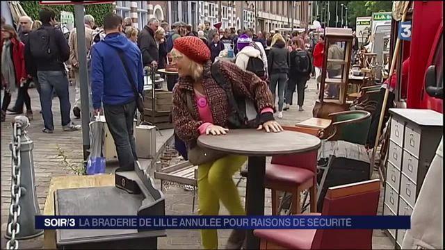 Lille : la plus grande braderie d'Europe annulée
